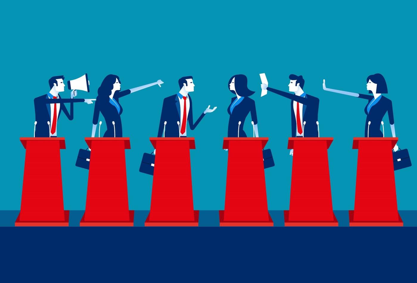 people debating - CollegeMarker