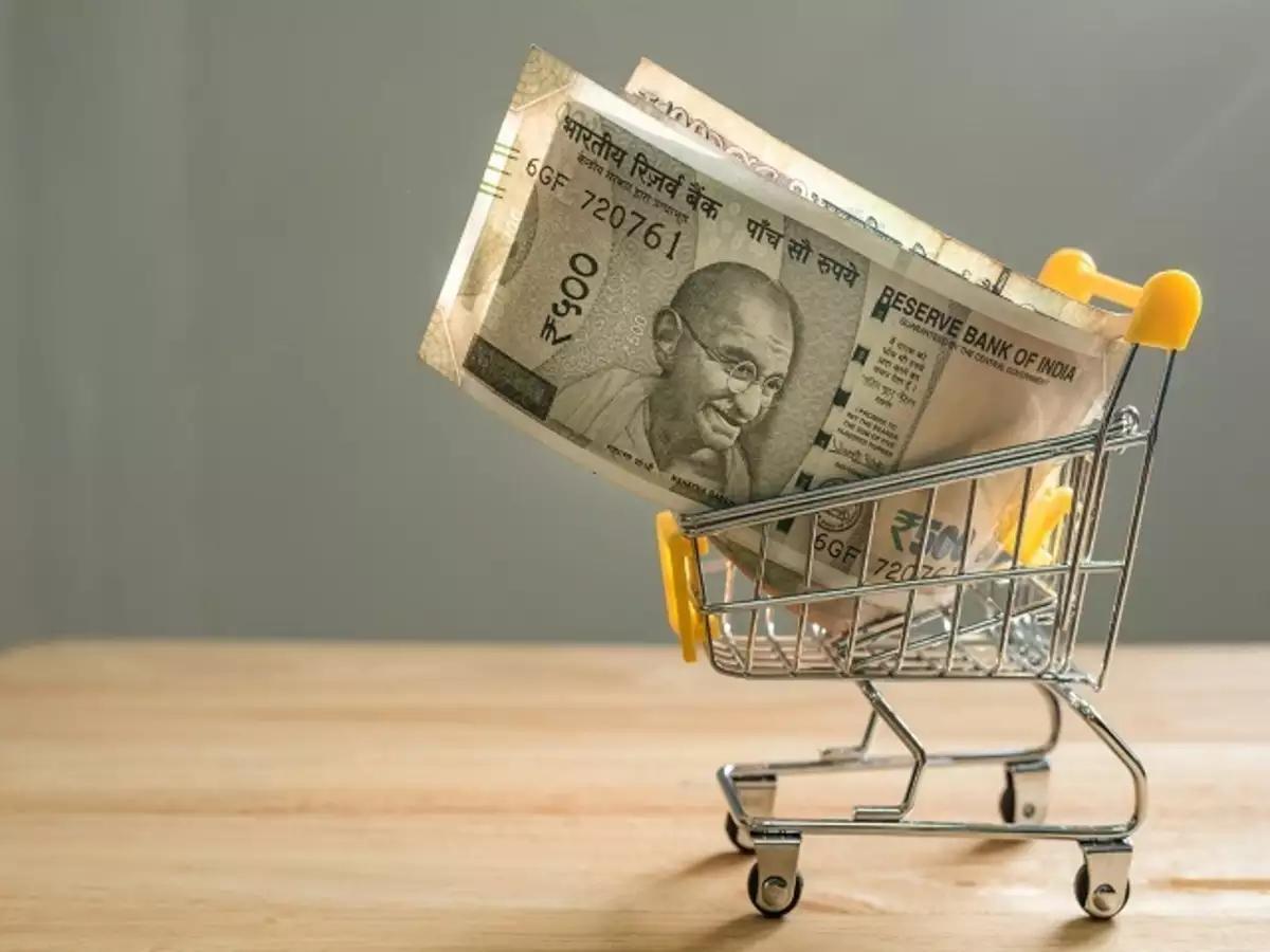 INR in a cart
