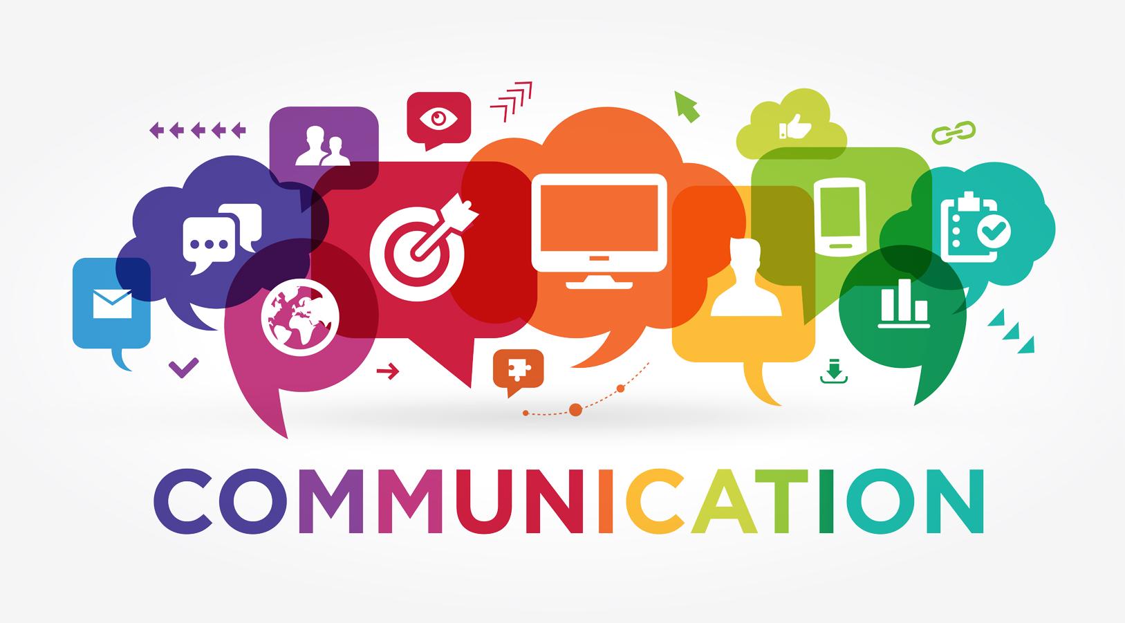 Communication written in colours