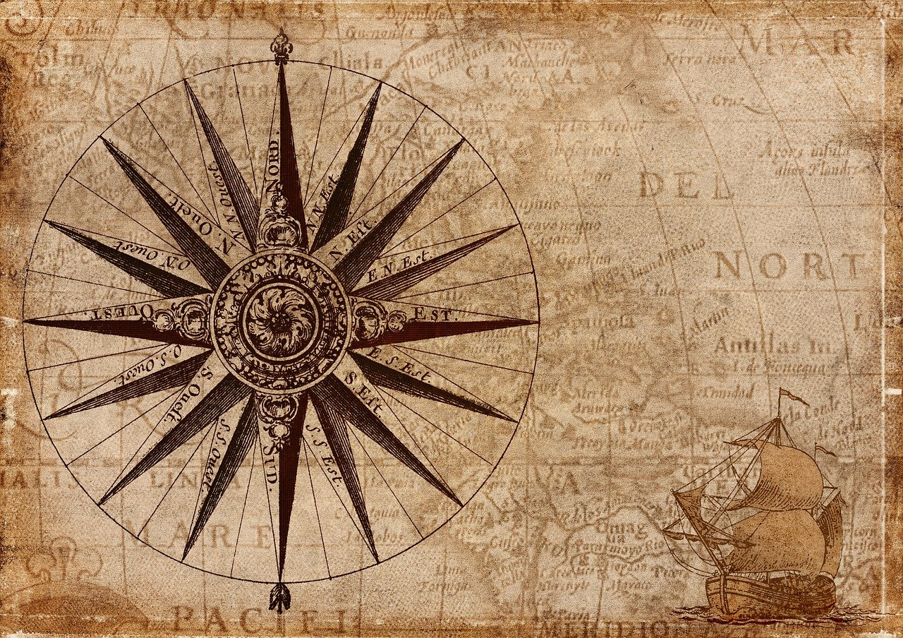 historical compass