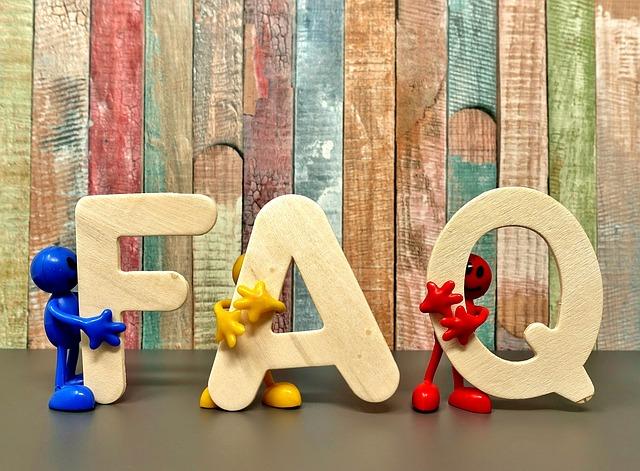 FAQ representational image